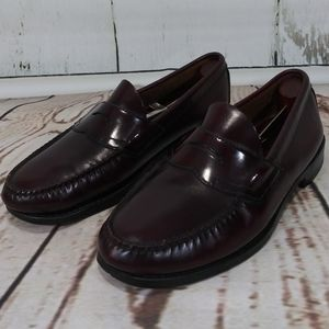 G.H. Bass & Co. Weejuns Loafers Burgundy  Sz 9EE